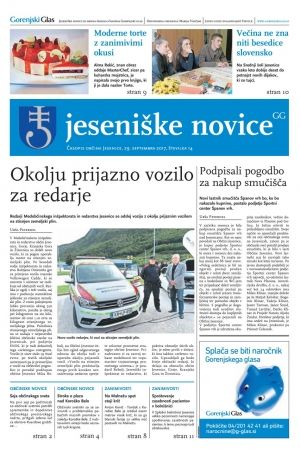 Jeseniške novice, 29. september 2017-14