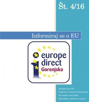 Europe Direct Gorenjska - bilten št. IV